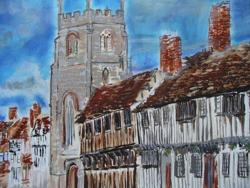 King Edward School Chapel. Stratford-Upon-Avon.