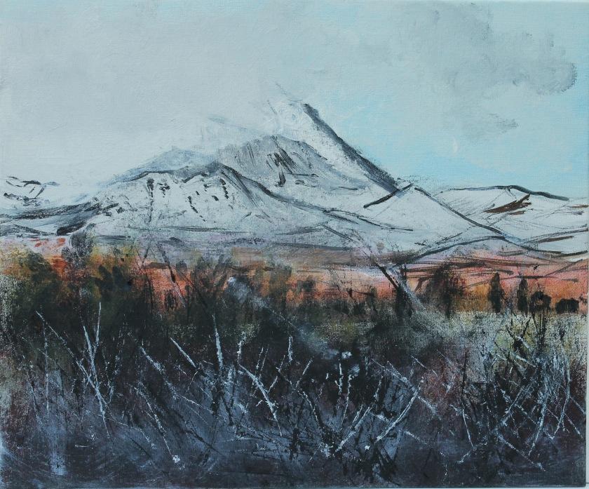 Mount Ruapehu, New-Zealand.