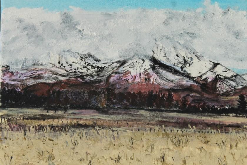 Eruption. Mount Ruapehu.