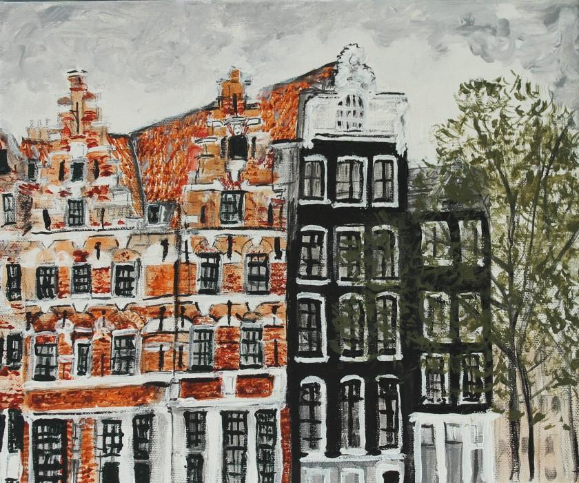 Brouwersgracht centrum Amsterdam.